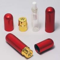 Inhaliatorius iš stiklo ir aliuminio